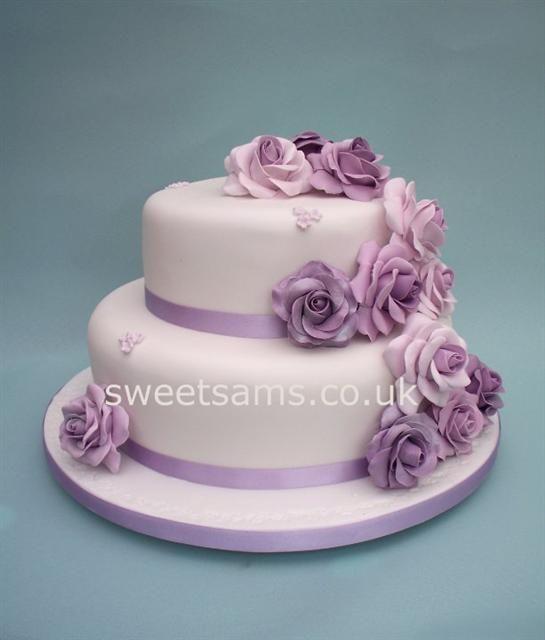 Fam S Cake Art Facebook : 2 tier wedding cakes Heart Shaped Wedding Cakes ...