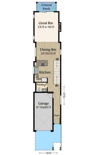 1000 ideas about narrow house on pinterest narrow house for Modern narrow house plans