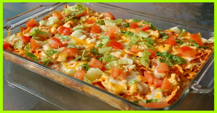 Mexican Chicken Casserole Smartpoints 6 - weight watchers recipes