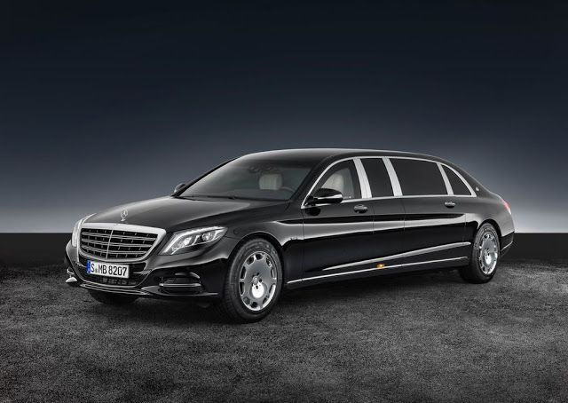 AutoNewCarsBlog: 2018 Mercedes-Benz S600 Pullman Maybach Guard