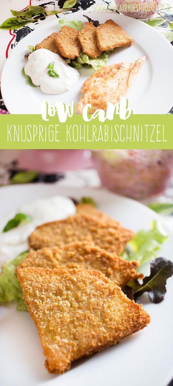 Low Carb knusprig gebratene Kohlrabi #glutenfrei