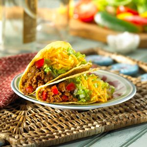 MorningStar Farms® Taco Filling Recipe –  takes just four ingredients and five mins!