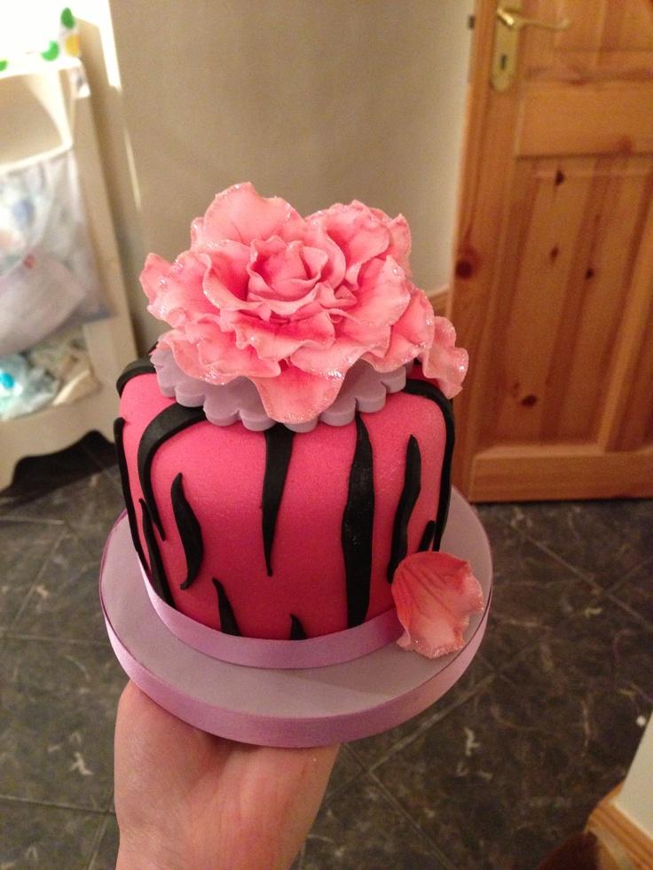 Birthday cake for my sister  Sineads Cakes  Pinterest