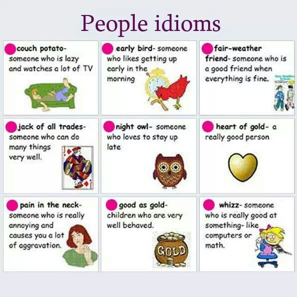 idioms for kids with meaning - photo #7