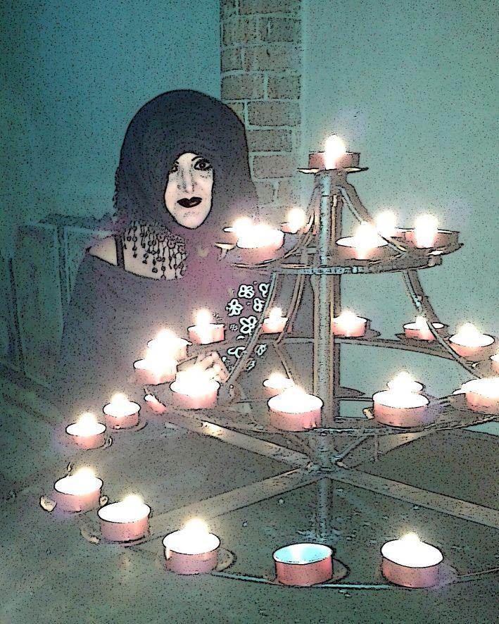 Ritanne du Lac: la luce delle candele migliora l'incarnato e favorisce la canalizzazione medianica dei messaggi provenienti da Orione!  http://www.messaggidallestelle.altervista.org