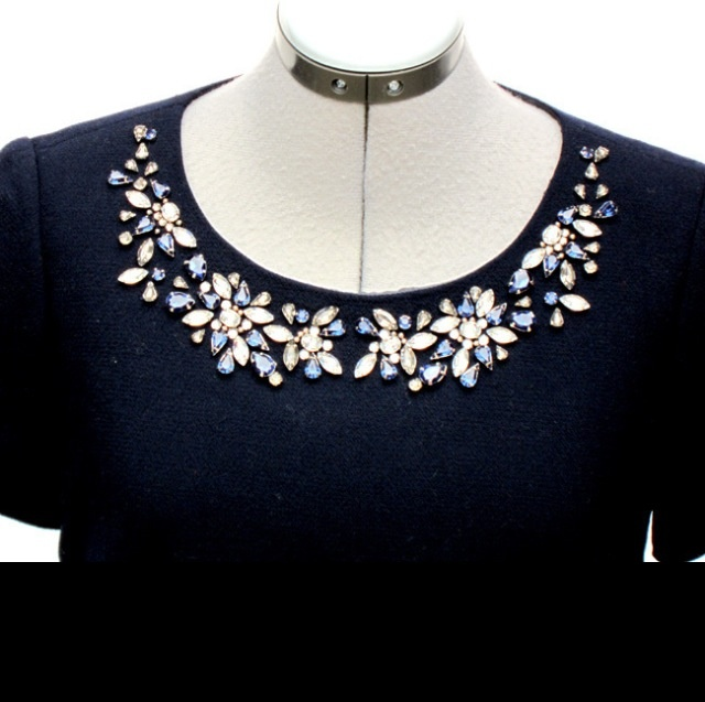 J.Crew Collection Jewel Neck Top