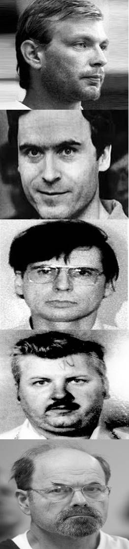 There is a long list of serial killers who were declared entirely sane at their trials meaning no mental health issue impacted on their behaviour and their reasoning for committing multiple murder, Jeffrey Dahmer, Ted Bundy, Dennis Nilsen, John Wayne Gacy and Dennis Radar to name just a few.