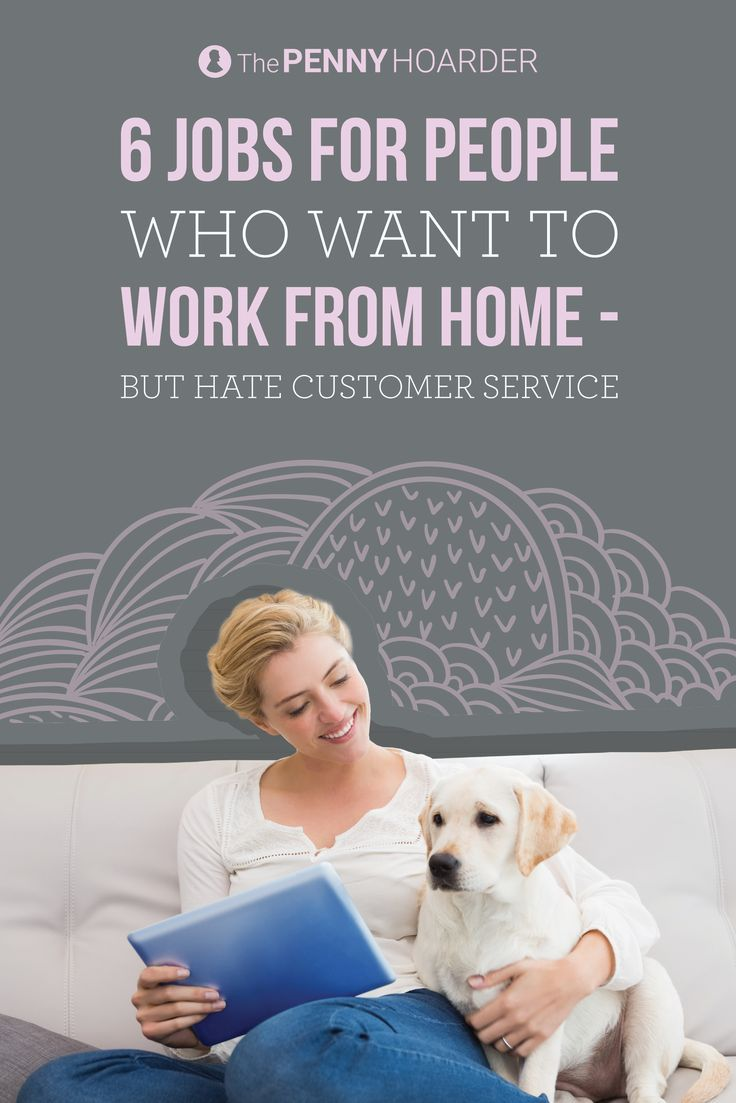 Don't live in a calm, quiet environment? These six work-from-home jobs don't require phone calls. Check 'em out... /thepennyhoarder/
