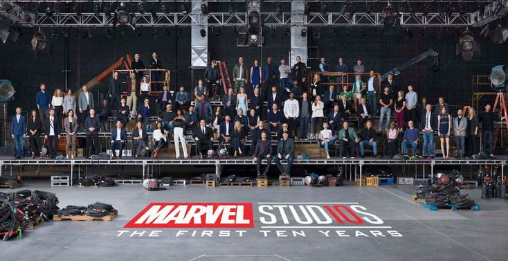 Behind the scenes of the iconic Marvel Cinematic Universe 10-year anniversary class photo