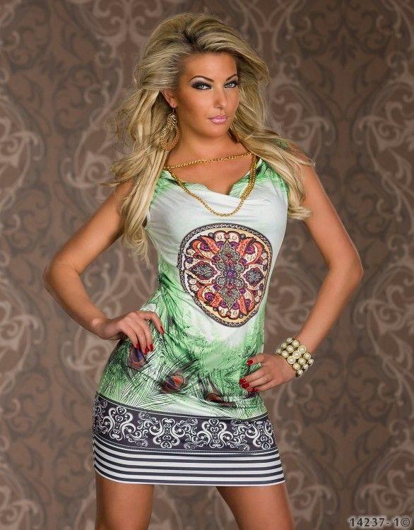 Платье свободного покроя лето, абстрактный перо узор цифровой принт Vestido де феста женщины стиль сарафан