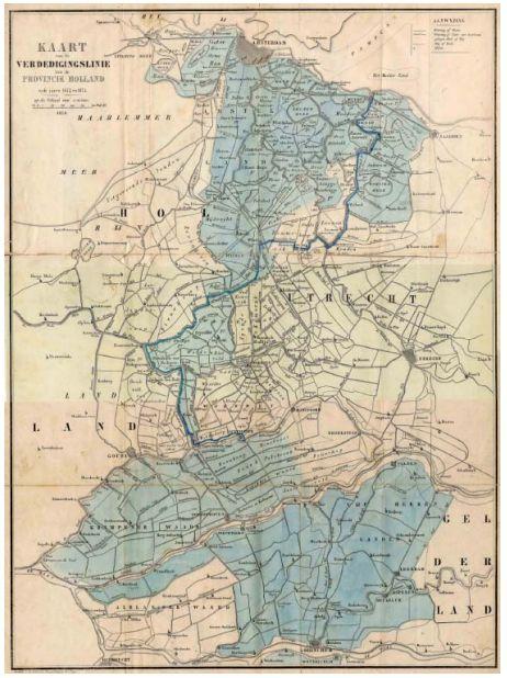 Historie van de Oude Hollandse Waterlinie | Ontdek de Oude Hollandse Waterlinie