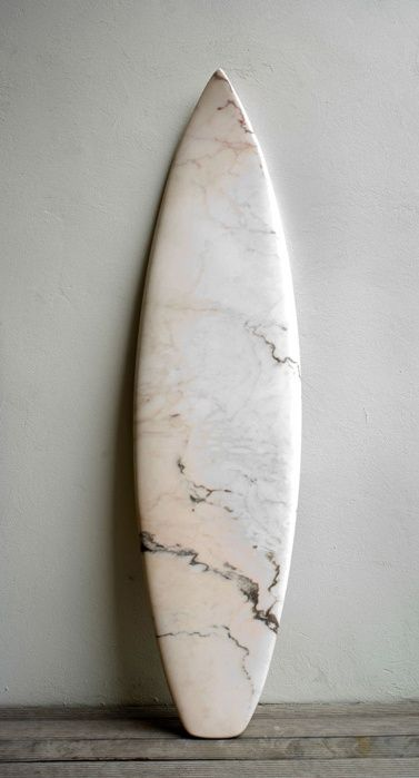 Marble surfboard. Art Curator & Art Adviser. I am targeting the most exceptional art! Catalog @ http://www.BusaccaGallery.com