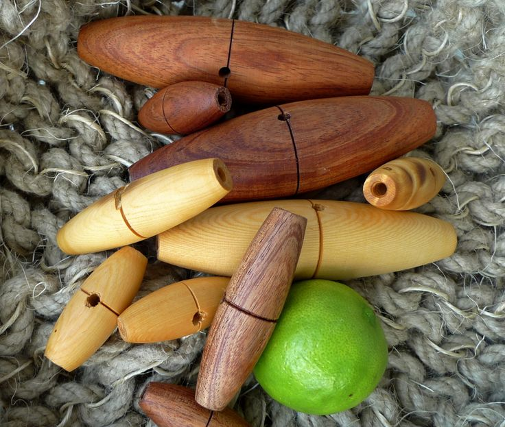 W&F hand made timber toggles