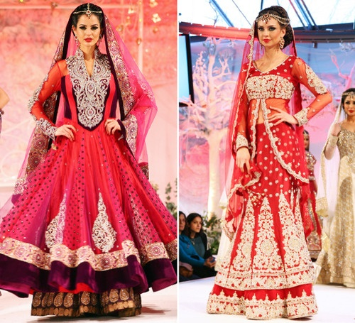 Chand - Asiana Bridal Show Catwalk - 2013 (London)