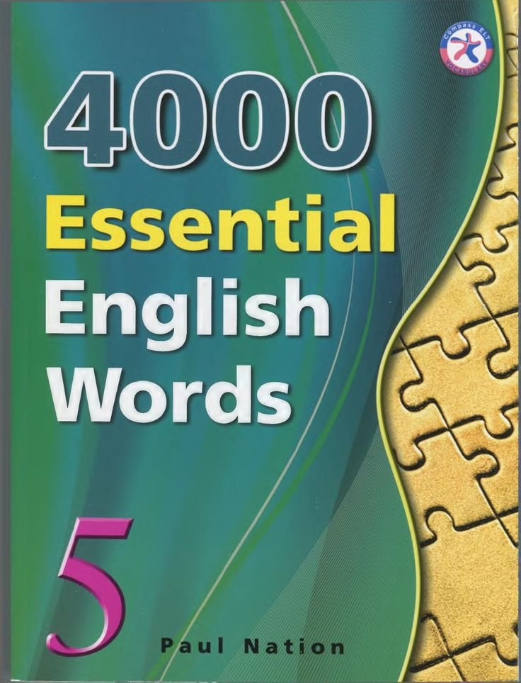 4000 essential english words 5  4000 Essential English Words is a six-book series that is designed to focus on practical high-frequency words to enhance the vocabulary of learners from high beginning to advance levels. The series presents a variety of words that cover a large percentage of the words that can be found in many spoken or written texts. Thus, after mastering these target words, learners will be able to fully understand vocabulary items when they encounter them in written and…