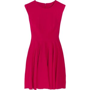 Alexander McQueen Wool-crepe dress: