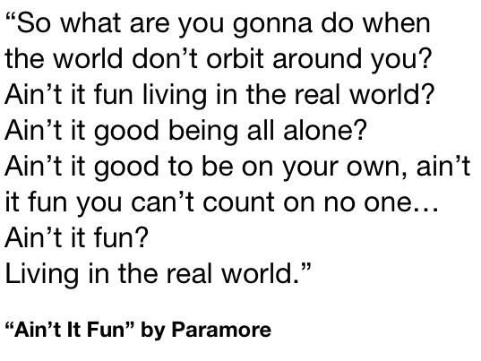 Aint It Fun Paramore Album 17 Best images ...
