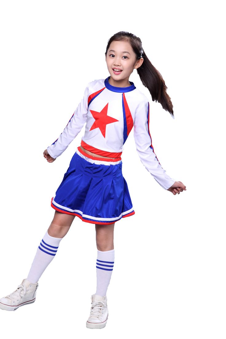 ==> [Free Shipping] Buy Best Children Cheerleading Clothing School Children Gymnastics Aerobics Performance Clothing Cheerleader Custome Cheerleading Uniform Online with LOWEST Price | 32790219331