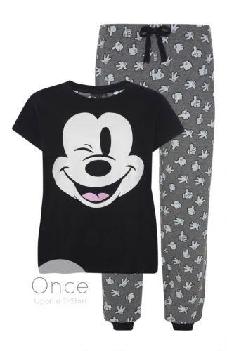PRIMARK-Disney-MICKEY-MOUSE-Pyjamas-Lounge-Pants-T-Shirt-Gift-Set