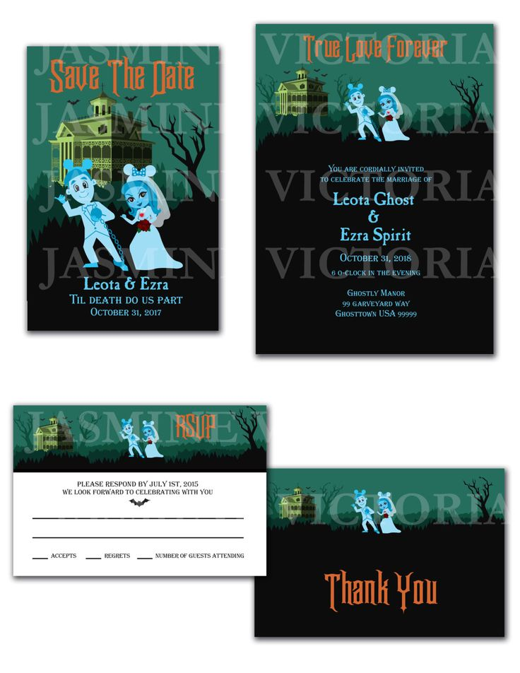cruise wedding save the date announcement%0A Haunted Mansion DLR Wedding Invitation  Save The Date  or RSVP by  JasmineVictoria on Etsy