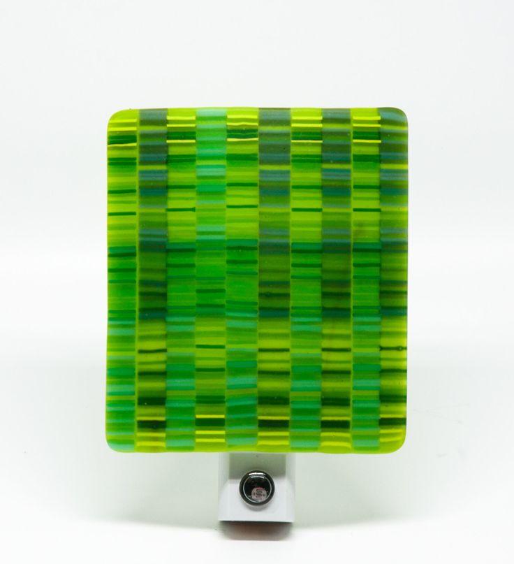 Night Lights, Adult Night Light, Auto LED NIght Light, Lime Green Night Light, Tapestry Pattern, by EladaGlass on Etsy https://www.etsy.com/listing/241913231/night-lights-adult-night-light-auto-led
