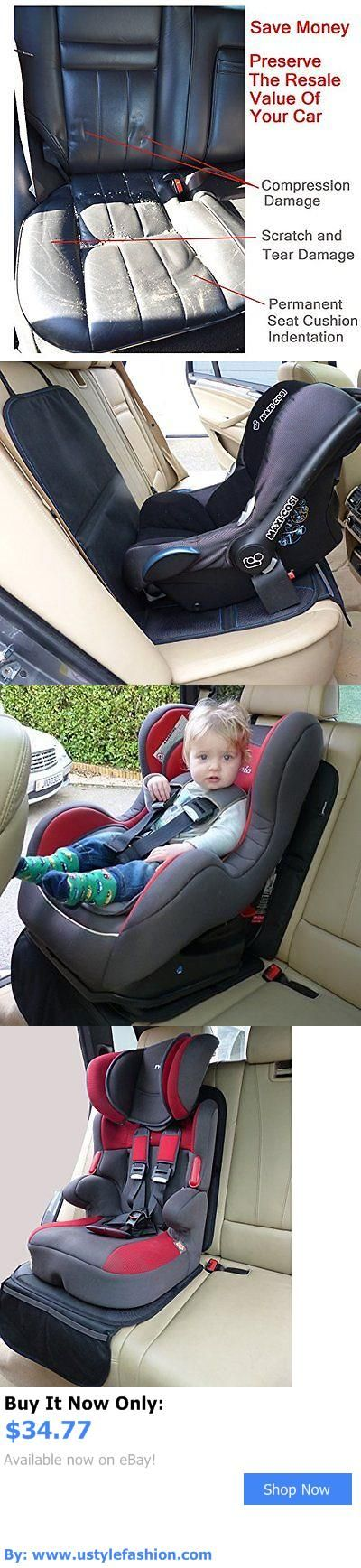 Car Seat Accessories: Child Car Seat Protector Mat - Covers Under Child Seat - Auto Leather Saver For BUY IT NOW ONLY: $34.77 #ustylefashionCarSeatAccessories OR #ustylefashion