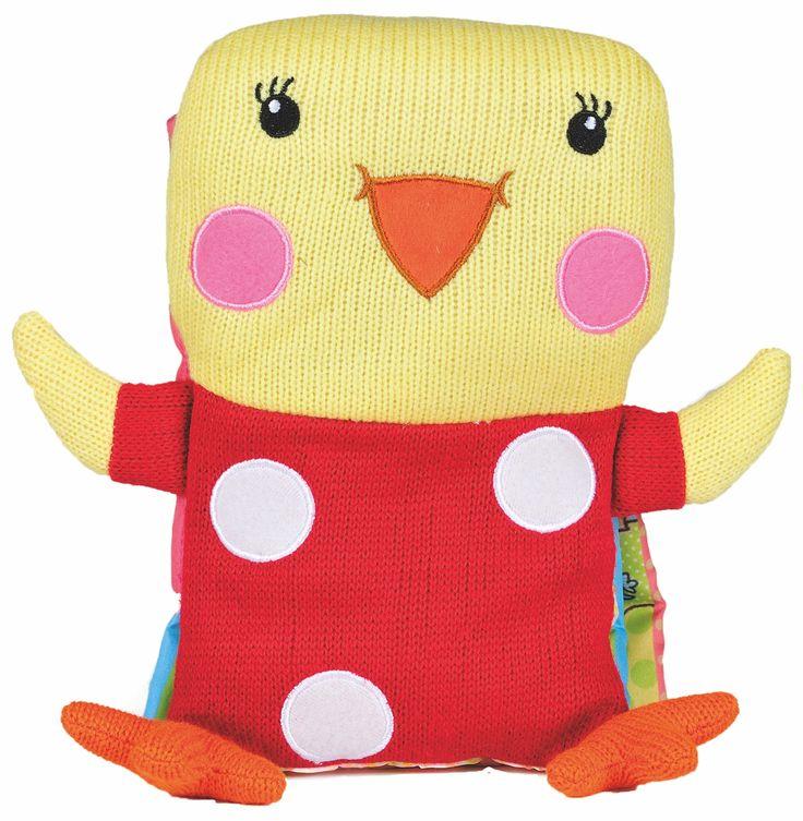 ¡Hasta mañana! Es hora de leer cuentos. Aquí tenéis uno precioso para bebés, y es un pollito, como el de Baby Caprichos  #librosdebebes #librosparabebes #bebes PVP: 14.90 € http://www.babycaprichos.com/libro-de-bebe-mi-pequeno-pollito.html
