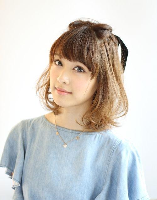 ミディアムカット×三角顔さんさんにすすめたいヘアスタイル☆長さはそのままで髪型の雰囲気を変えたい☆ミディアムヘアのアレンジ 参照まとめです!