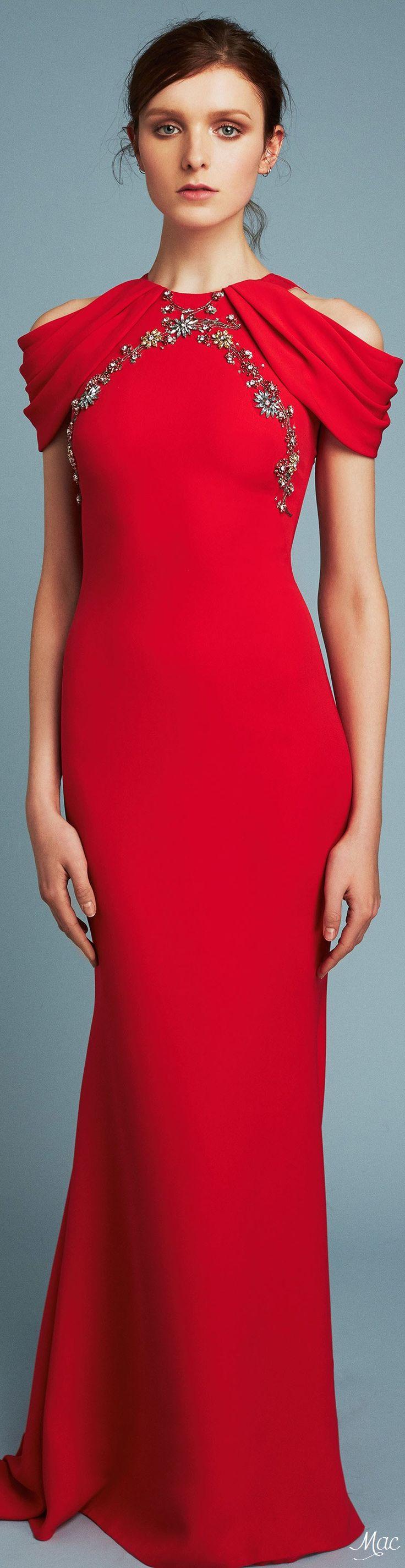 97 best Reem Acra images on Pinterest | High fashion, Fashion show ...