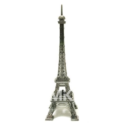 Metal In Korea Eiffel Tower Silver Color 3D Innometal Steel Metal Model Puzzle #MetalInKorea3DInnoMetal