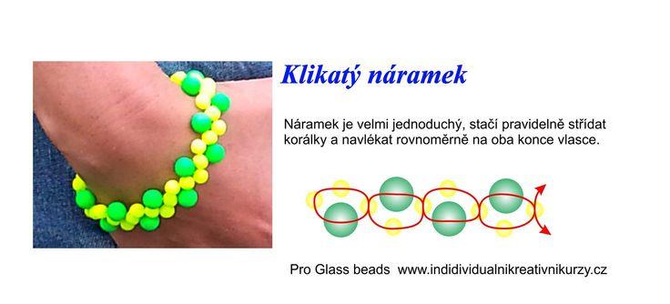 Klikatý náramek | Glass4u.cz