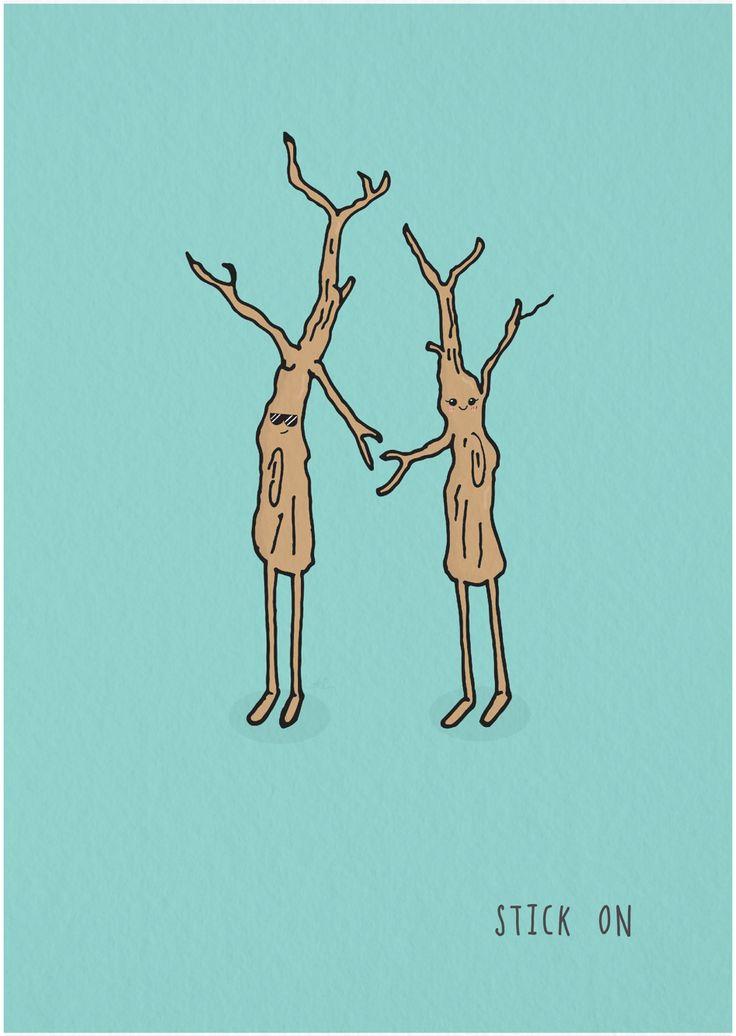#doodleaday2016  #punnylanguage  #stickon