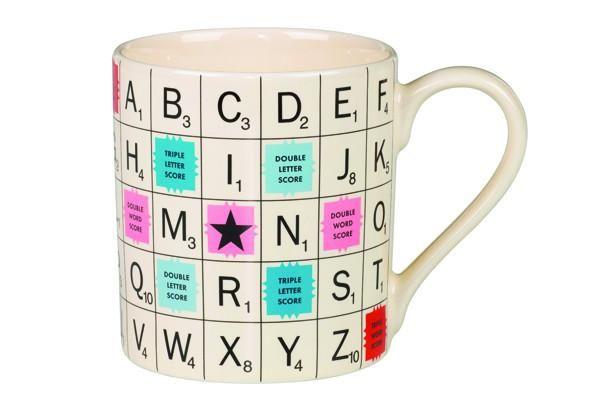 Vintage Scrabble Mug