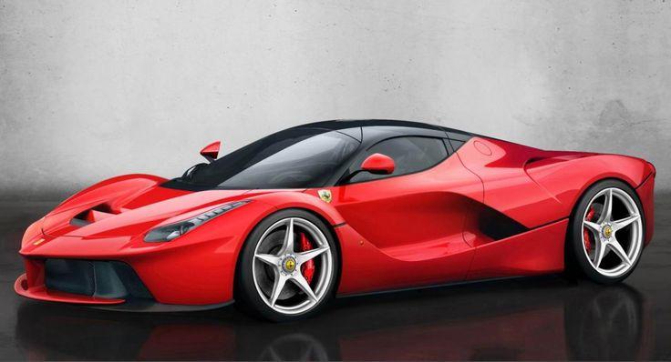 samochoód sportowy czerwony na kolach itp itd super samochód włoskiej firmy Ferrari produkowany od 2013 roku zaprezentowany podczas Międzynarodowego Salonu Samochodowego w Genewie 8 marca 2013 roku.