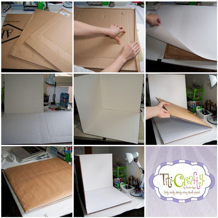 Homemade photo studio DIY / Foto Estudio hecho en casa