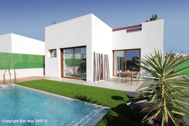 "Property Ref: 4070 New Build Villa model "" Villas Veleta"" for sale in Benijófar, province of Alicante. This property offers Monocap finish in white with a terrace, living room/kitchen/dining room, utility room, master bedroom with en-suite, 2 further bedrooms, main bathroom, a large sun terrace, beautiful landscaped garden mediterranean style, double glazing and other modern features. The property is located in a quiet location close to all amenities. A private pool is optional. Price…"