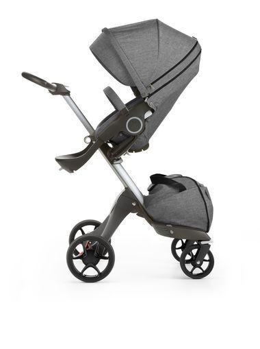 Poussette luxueuse moderne avec design scandinave. Système de voyage avec options évolutives dès la naissance et choix d'accessoires élégants. Achetez en ligne.