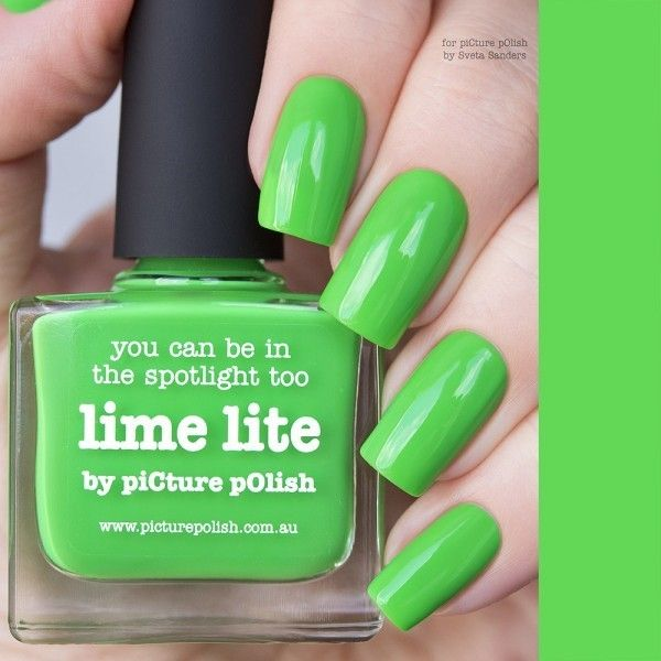 PicturePolish Kynsilakka LIME LITE