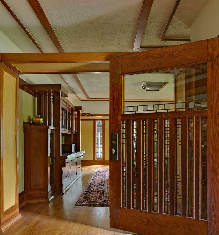 Interior door idea for sitting room Frank Lloyd Wright Arthur Heurtley House Oak Park Illinois 1902 & 13 best IND 2222-Frank Lloyd Wright images on Pinterest ... pezcame.com