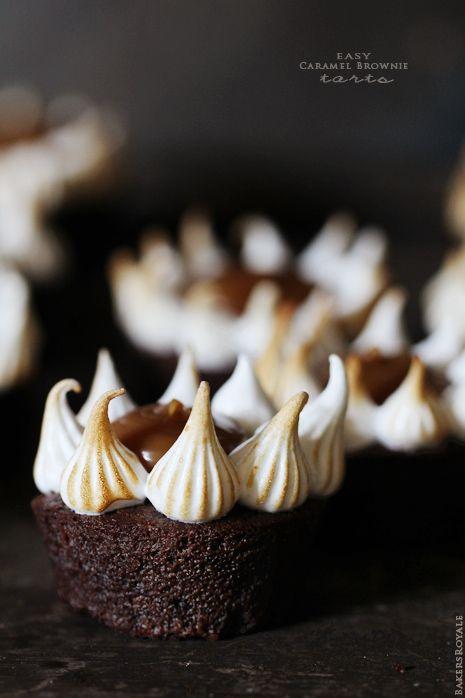 Caramel Brownie Tarts | Bakers Royale
