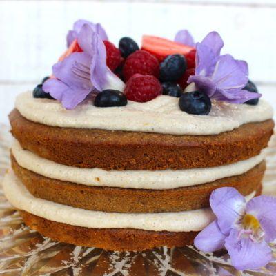 Lemon and Vanilla Layer Cake |