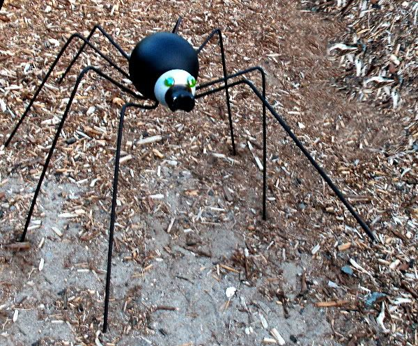 Bowling Ball Spider With Directions Carolyn Welch