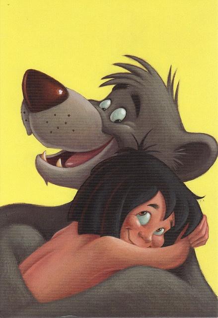 mowgli and baloo relationship goals
