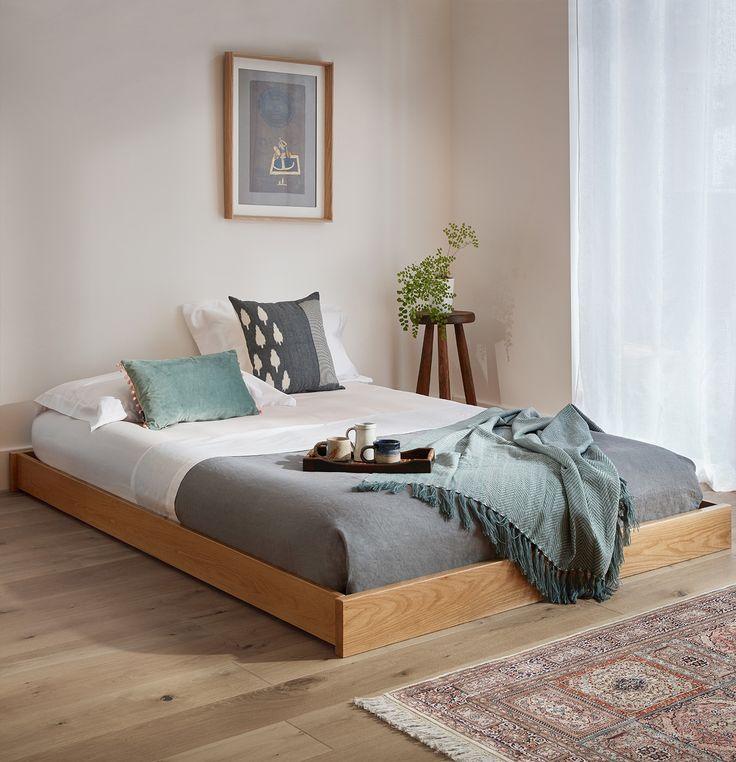 Best Low Enkel Platform Bed No Headboard С Изображениями 400 x 300