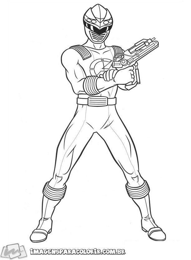 Power Rangers Ninja Storm 31 Power Rangers Para Colorir Power