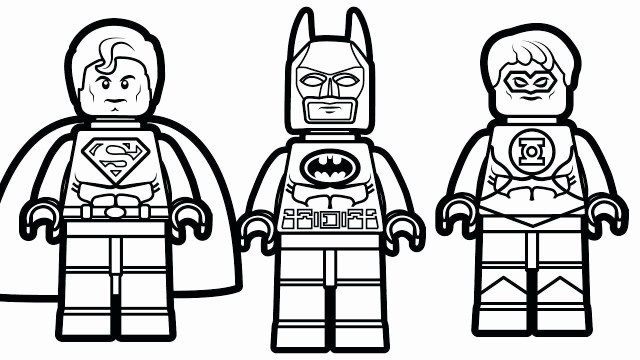 Lego Dc Universe Super Heroes Coloring Page Lego Lego Superman
