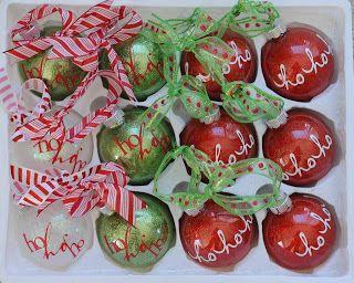 super cute Christmas idea