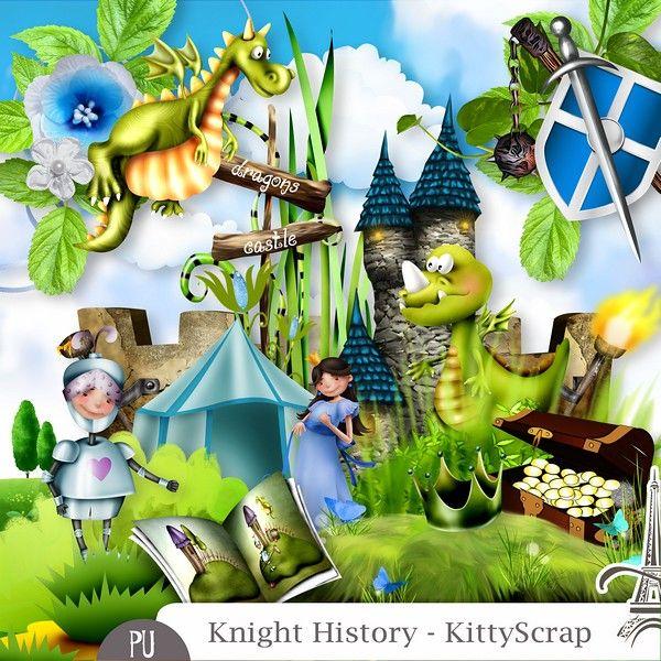 Le Blog de kittyscrap: KNIGHT HISTORY - Essentiel