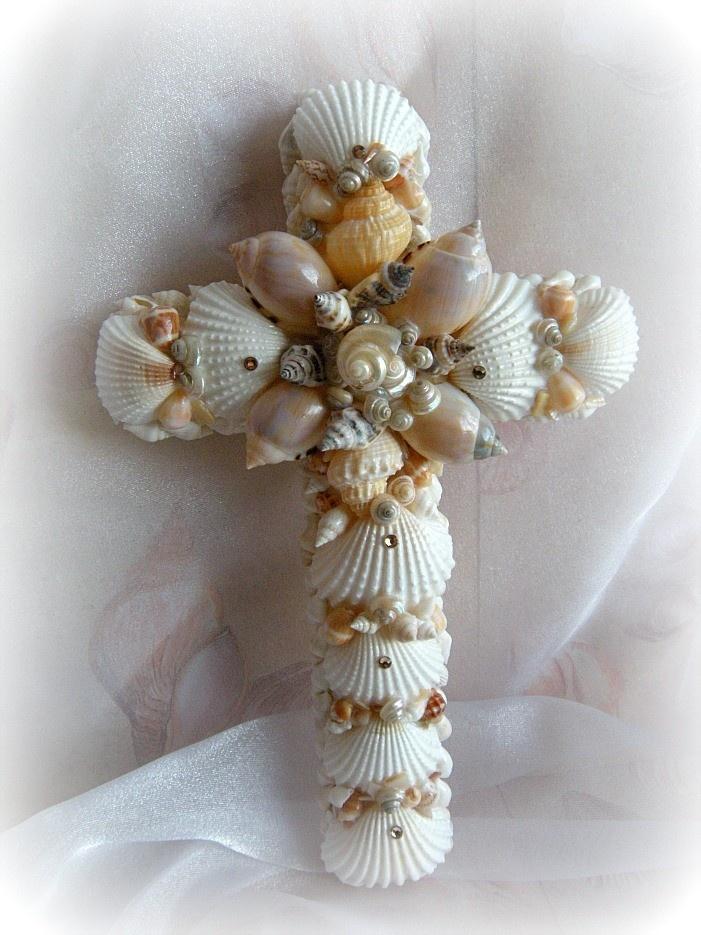 seashell cross.