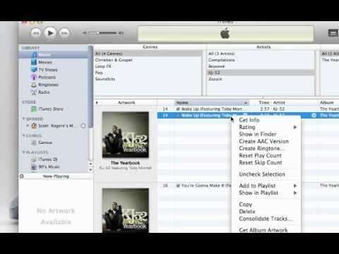 How to make a ringtone for IPhone using ITunes. I made a bunch of Christmas ringtones. :)